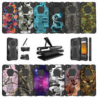 For ZTE Blade Force | ZTE Warp 8 N9517 (2017) Dual Layer Case with Stand - Camos