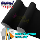 *Premium Black Velvet Suede Textured Sticker Decal Vinyl Wrap Self Adhesive Film