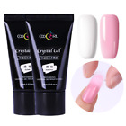 30ml Clear Pink Poly Gel Quick Building Nail Tips Finger Extension Glue Builder