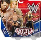 WWE WWF MATTEL BATTLE PACK 2 FIGURE SERS INC. Daniel Bryan, Rock, Ric Flair ETC.