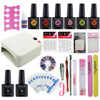 Coscelia Salon Gel Polish Shine Nail Manicure Starter Kit 36W UV/LED Dryer Lamp