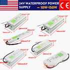 AC-DC 24V Outdoor Waterproof Transformer Power Supply Adapter LED Light Driver