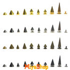 Rivet Cone Spikes Spots Screw Studs Punk Leather Rock Back Craft DIY Bullet