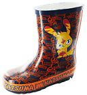 Boys Kids Novelty Moshi Monsters Character Wellies Wellington Rain Boots