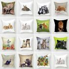 Digital Printed 3D Animal Themed Square Cushion Covers Cases Sofa Home Décor