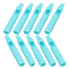 5/15/30/50Pcs Disposable Sterile Tattoo Nozzle Tube Tip RT DT FT Blue 20 Size