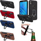 For ZTE Avid 4 IMPACT Hard Protector Rubber Kickstand Cover +Screen Guard