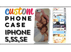PERSONALISED CUSTOM PRINTED CASE COVER for iPHONE 5S Silicon