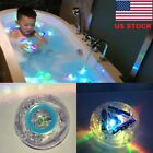 Party In The Tub Bath Time Baby Kids Shower Fun Color Changing LED Light Toys HX
