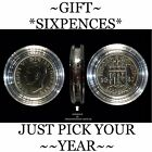 BIRTHDAY** SIXPENCE, 1947 TO 1967 *IDEAL TO ATTACH TO YOUR GREETING CARD