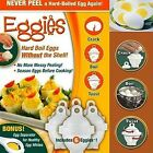 As Seen On TV Hard Boil Egg Cooker 6 Eggies CRACK / BOIL / TWIST [USA STOCK]
