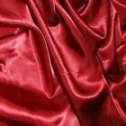Silky Satin Fabric Plain Dress Craft Material Polyester 150cm Wide <br/> Buy 5 Get 1 Free (add 6 to basket to qualify)