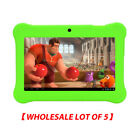 """7"""" Quad Core HD Tablet for kids 7 inch Children Tablet WHOLESALE LOT OF 5"""