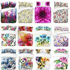 3D Digital Realistic Flowers Designs Print Duvet Quilt Covers With Pillowcases