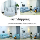 STRETCH SLIPCOVER SOFA COVER PROTECTOR FLORAL 1 2 3 4 SEATER FULL COUCH COVER