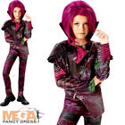 Deluxe Mal Girls Fancy Dress Disney Descendants Movie Film Childrens Costume New