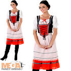 Heidi Bavarian Girl Ladies Fancy Dress Oktoberfest Beer Maid Women Adult Costume