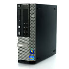 Fast Dell Optiplex 990 SFF  i5-2400 3.10GHz Windows Desktop Computer Business PC