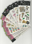 U CHOOSE Assorted Me & My Big Ideas MAMBI MINIS flat Stickers safari wedding boy