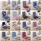 Dining Chair Covers Stretch Removable Wedding Slipcover Spandex 2 4 6 8Pcs Cover