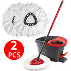 4/2/1X Replacement Heads Easy Cleaning Mopping Wring Spin Mop Refill Mop O-Cedar
