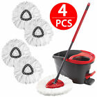 Replacement Heads Easy Cleaning Mopping Wring Spin Mop Refill Mop O-Cedar 360°