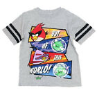 Boy's XL-16 Angry Birds in Space Shirt Out Of This World Tee T-Shirt NEW