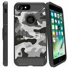 "For Apple iPhone 6 (4.7"") Shockproof Dual Layer Stand Case - Camo Designs"