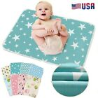 Durable Baby Changing Pad Infant Cotton Nappy Cover Toddler Waterproof Urine Mat