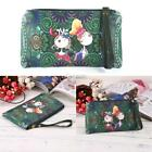 Cartoon Print Vintage Style Clutch Long Wallet Purse DZ88