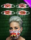 Halloween Surgical Mask with Teeth Horror Surgeon Doctor Dentist Fancy Dress