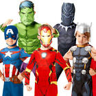 Avengers Infinity War Boys Fancy Dress Superhero World Book Day Childs Costumes