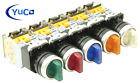 YC-SS22PMA-I Illuminated Selector Switch Choose: Color, Voltage, 2 or 3 Position
