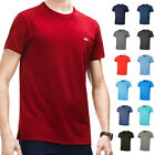 Lacoste Mens 2018 SS Crew Neck Pima Cotton T-Shirt TH6709 Short Sleeve Tee