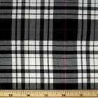 Fashion Tartan Plaid Check Polyviscose Fabric 150cm Wide 190 gsm All Ranges