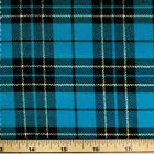 Fashion Tartan Plaid Check Polyviscose Fabric 150cm Wide Royal Stewart etc