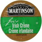 Martinson Coffee Irish Creme K-Cup Fragment Pack for Keurig Brewers