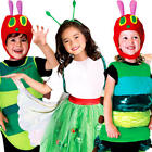 The Very Hungry Caterpillar Boys Girls Fancy Dress World Book Day Child Costumes