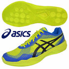 ASICS Japan TVR715 Yellow Blue Men's Volley Elite FF Low Volleyball Shoes