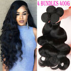 100% Soft Body Wave 400G 4 Bundles Brazilian Human Hair Virgin Weave Weft F796