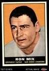 1961 Topps #168 Ron Mix Chargers VG/EX $6.5 USD on eBay