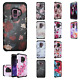 For Samsung Galaxy S9 / S9 PLUS HARD Astronoot Hybrid Rubber Case Phone Cover