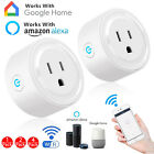 1x2x4x Smart WiFi Plug Outlet Swtich work with Echo Alexa Google Home APP Remote