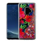 For Samsung Galaxy S9 /S9 PLUS Liquid Glitter Quicksand Case Phone Cover