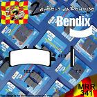 BENDIX 341-MRR ROAD RACE FRONT BRAKE PADS TO FIT MOTORCYCLES DETAILED IN LISTING