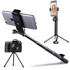 New Bluetooth Selfie Stick Tripod Monopod Remote Control 360° Clamp iOS Android