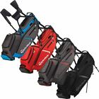 TAYLORMADE GOLF 2018 FLEXTECH CROSSOVER STAND BAG MENS CARRY BAG 14-WAY DIVIDER