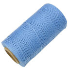 Sewing Waxed Thread Yarn For Crafts Leather Shoes All Purpose 260m 1mm 16Colors