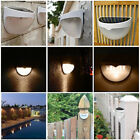 Outdoor White 6LED Solar Power Powered Light Garden Path Wall Roof Yard Durable