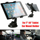 "360° Car Windshield Desk Holder Mount Stand For 7""-10"" Tablet iPad Air/4/3/2 GPS"